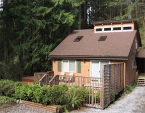 Mt. Baker House for sale in the gated resort community of Snowline, in Glacier Washington