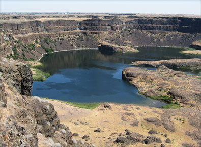 Dry Falls, Central Washington