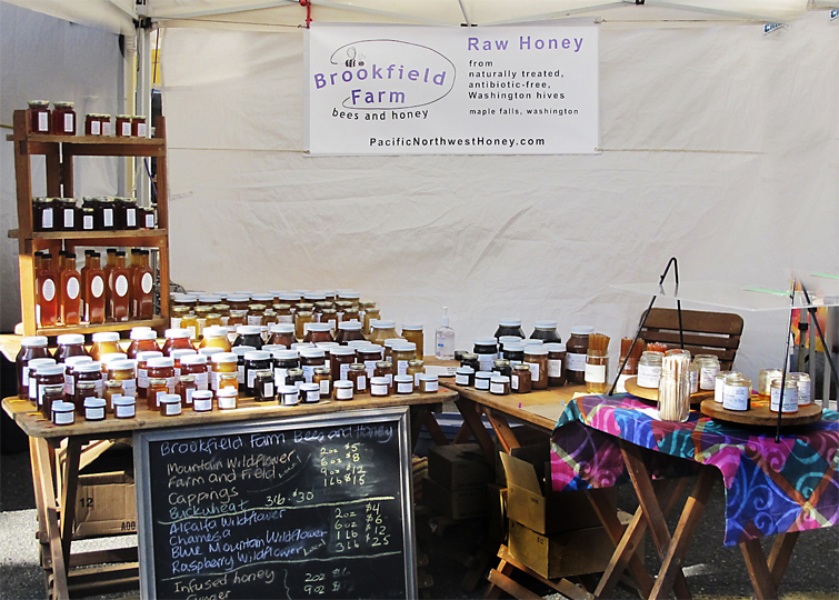 Brookfield Farm Bees And Honey Booth