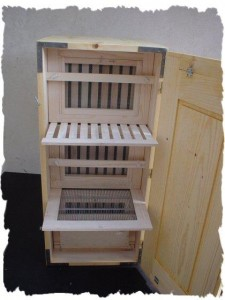 Interior of a eastern European Bee hive (B&S manufacturers)
